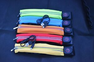 LED Neon Waist Bag Bum Bag Running Belt Light Up Flashing USB Rechargeable