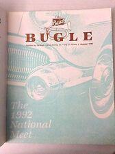 Buick Bugle Magazine 1992 National Meet October 1992 032017NONRH