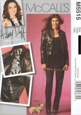 Pattern McCalls Sewing Woman Hilary Duff Jacket Pants  Sz 10-16 Vintage NEW OOP