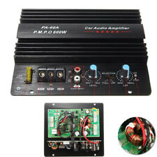 600W Amplifier Board Mono Car Audio Power Amp Bass Subwoofers Overload Protect