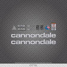 0712 CANNONDALE M900 Bicicletta Adesivi-Decalcomanie-Transfers-Argento