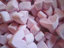 Wedding Favours Sweets Mini Pink Heart Marshmallows 100g UK Candy