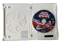 Wii Super Mario Galaxy Nintendo Selects Case & Game No Manual, Free Shipping