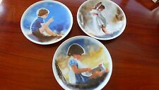Zolan Collector Plates Set/3 Erik & Dandelion, Sabina in Grass, By Myself