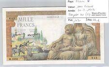 BILLET FRANCE - 1000 FRANCS - 20.8.1942 *