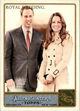 2011 Topps Allen & Ginter Baseball #293 Prince William/Kate Middleton Royal Wed.