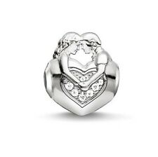NUOVO Thomas Sabo argento sterling CZ Set Sweetheart KARMA CZ Set Perline K0161 £ 55.00