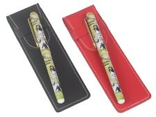 More details for bearded collie dog pen in a choice of red or black pen case perfect gift