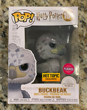 Funko Pop Harry Potter Flocked Buckbeak BLACK EYES Hot Topic Exclusive -3000