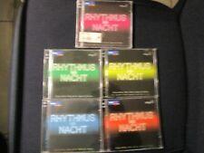5 DOPPEL CD SAMMLUNG WDR 4 Rhythmus der Nacht Vol. 1 + 2 + 3 + 4 + 5 SCHLAGERMIX