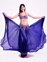 New High Quality Belly Dance Costume 3PCS of Bra&Belt&Skirt 34B/C 36B/C 9 colors