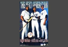 New York Yankees GENERATION 1998 Poster DEREK JETER, Andy Pettitte, Bernie Will.