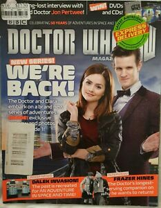 Dr Doctor Who Magazine Issue 458 March 2013 Clara Frazer Hines John Pertwee