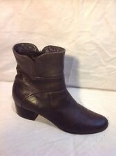 Jones Boot Maker Brown Ankle Leather Boots Size 38