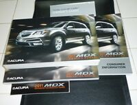 2011 ACURA MDX OWNERS MANUAL SET 11 w/case + NAVIGATION GUIDE