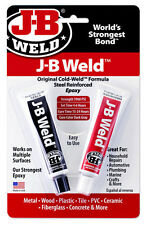 J-B Weld 8265S 2ND CLASS POST Original Cold Weld Formula Steel Reinforced Epoxy