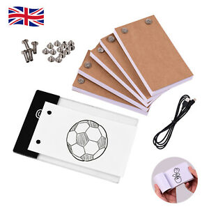 Flip Book Kit With LED Copyboard Light Box 300 Sheets Drawing Tracing Flipbook