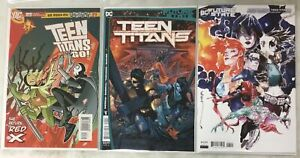 2004 TEEN TITANS GO comic # 23 & T.T. # 1 ~ RED X 1st Appearance ~ FUTURE STATE!