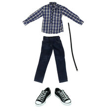 Hosen Gürtel   Puppenzubehör 1//6 Puppenkleidung Satz   Langarm T Shirt