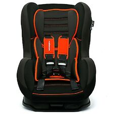 OFFER!! Comfort + Recliner Car Seat Forward Facing 9m to 4yrs RRP £110 ORANGE SP
