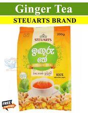 Ceylon Steuarts Ginger Tea Pouch 200g 7.05oz Pack Free Shipping from Sri lanka