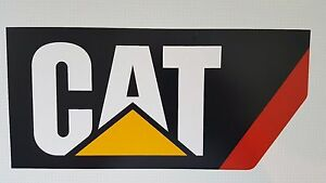 100 % genuine Caterpillar Vinyl Cut Decal Sticker Truck,Car -0110671