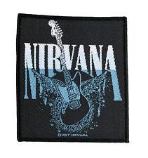Nirvana GUITAR Aufnäher Nirvana Patch Gewebt & Lizenziert !! SP2968