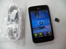 LG Optimus Dynamic L38Cb 1GB - Black - tracfone Grade B FREE BUNDLE & SHIP