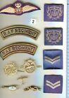 RAF badges selection, some rare.