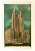 New York City NY Waldorf-Astoria Hotel Park Avenue Vintage Postcard