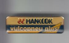 RARE PINS PIN'S .. AUTO CAR PNEU TYRE HANKOOK KOREA VULCOPNEU PLUS SHOP ~DD