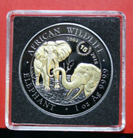 "Somalia 100 Shillings 2018 ""African Wildlife"" #F3250, 15th Anniversary-Gd.Enigma"