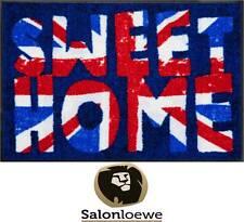 """Paillasson 50 x 75 cm Paillasson lavable Efia """" Britannique Vintage """" NEUF"""