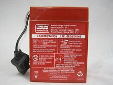 Power Wheels Battery 6 Volt Red Fisher Price Genuine 1 Year Warranty