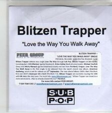 (CH660) Blitzen Trapper, Love The Way You Walk Away - DJ CD