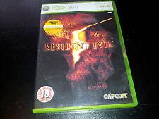 XBOX 360 GAME RESIDENT EVIL 5.