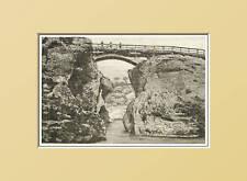 CIVIDALE:PREMARIACCO-Ponte romano. In Passepartout 1892