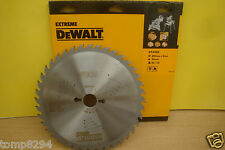 DEWALT DT4322 250MM X 30MM BORE 40T TCT TABLE MITRE SAW BLADE  + TREND GAUGE/1