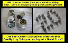 *Special - Best Quality  Bundle -Trans Am GOLD Snowflake Center Caps & Lug Nuts