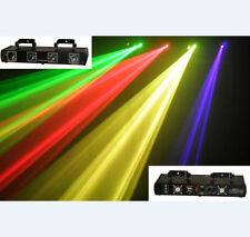 4 Lens 4 Beam RGPY DJ Disco Laser Light Stage Party Show DMX 7CH Show Lighting