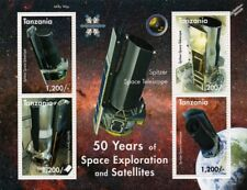 SPITZER Space Telescope/50 Years of Space Exploration Stamp Sheet/2008 Tanzania