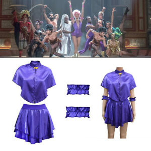 The Greatest Showman Anne Wheeler Cosplay Girl Kids Costume Princess Fancy Dress