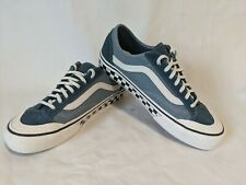 Vans Old Skool Check Sidewall True Navy/White Men's Shoes Size 8 Womens 10