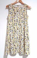 Zara Short Summer Shift Dress Size 8 Small