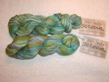 New listing 2 Skiens - Manos del Uruguay Serena~ Alpaca/Pima Cotton # 9796 Mermaid - 340 yds