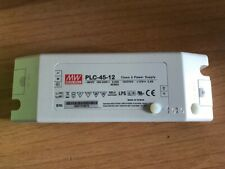 MEAN WELL PLC-45-12 LED POWER SUPPLIES 45.6W 12V 3.8A