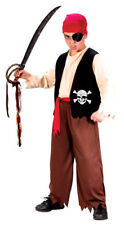 PLAYFUL PIRATE BUCCANEER CHILD HALLOWEEN COSTUME BOYS SIZE STANDARD