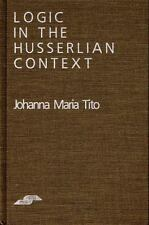 Logic in the Husserlian Context (Studies in Phenomenology and Existential