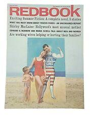 Redbook Vintage July 1961 Magazine Shirley MacLaine Ads Birthday Gift Idea