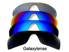 Galaxy Replacement Lenses for Oakley Batwolf Black&Blue&Green&Titanium 4 Pairs